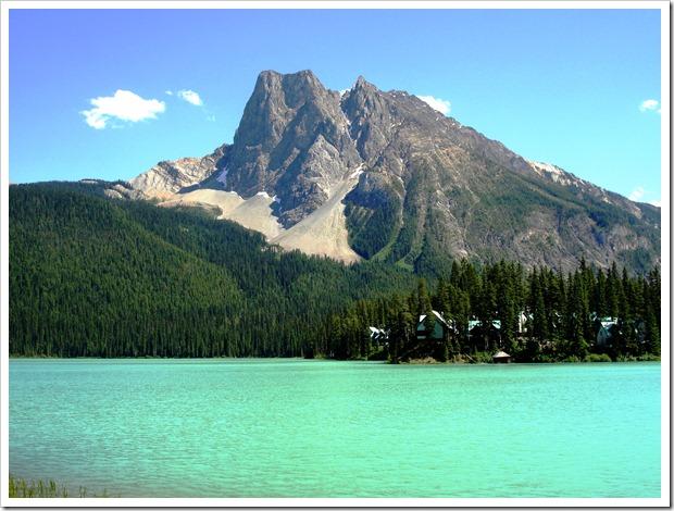 monteña Burguess y lago Emerald