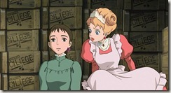 Howls Moving Castle Sophie and Lettie