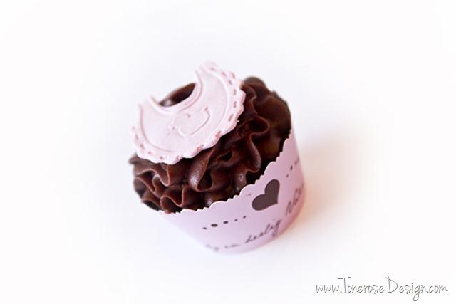 cupcakes til barselbesøk baby cupcakes dåp IMG_4043