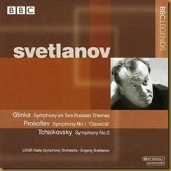 Prokofiev Sinfonía Clásica Svetlanov