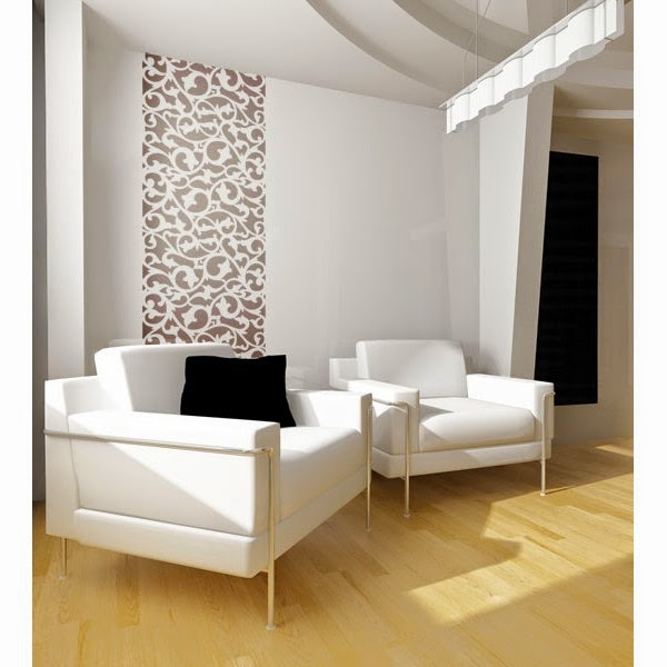 Wall Stencil Abstract 121 Repetitive Pattern Wall Paint Stencils