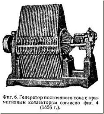 генератор тока 1856 года