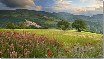 peisaje primavara-italia