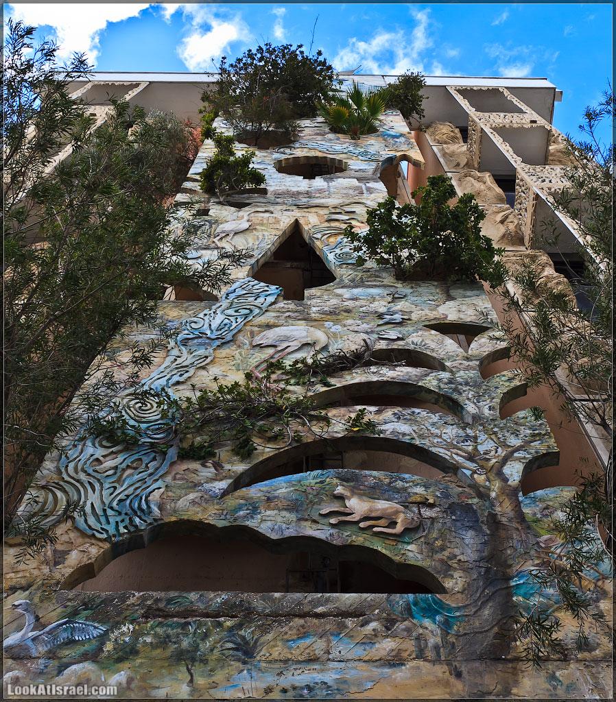 LookAtIsrael.com: Тель Авив, Сумасшедший дом номер 181 или сколько будет 1+1? (foto israel  фото тель авив путешествия ночь и интересно и полезно hdr )