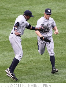 'Curtis Granderson and Brett Gardner' photo (c) 2011, Keith Allison - license: http://creativecommons.org/licenses/by-sa/2.0/