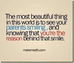 you are the reason of the smile