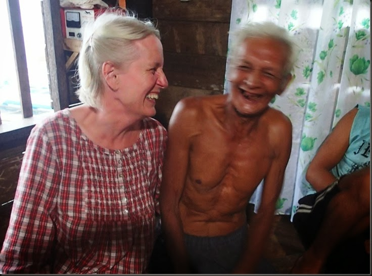 meeting locals in remote places travelling the world by sailboat