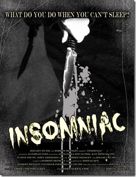 INSOMNIAC poster 8.5 flat
