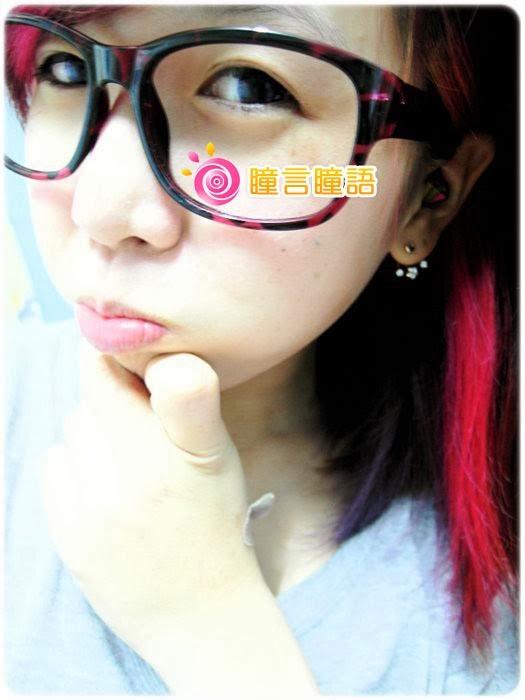 日本EOS隱形眼鏡-自然蘿莉灰14