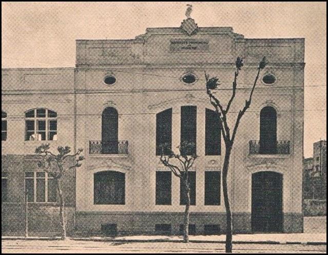 Instituto Provincial de Higiene. 1924 calle dr simarro