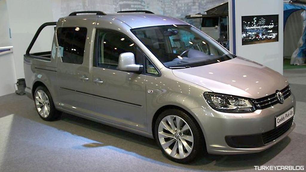 Volkswagen Caddy Pick-Up Konsept Polonya'da Düzenlenen ...