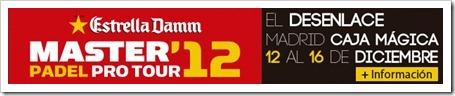 El mejor Máster Estrella Damm de la historia ya ilumina Madrid: presentación oficial, sorteo de grupos y horarios para el evento de 2012.