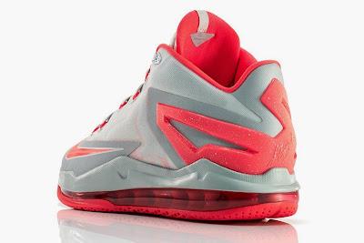 nike lebron 11 low gr laser crimson 2 05 Release Reminder: Nike Max LeBron XI Low Laser Crimson