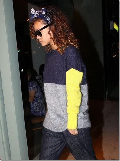 Rihanna Rihanna Getting New Tattoo West Hollywood o-z4d4DuMCJl