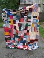 Wedding quilt for Dave and Denise.