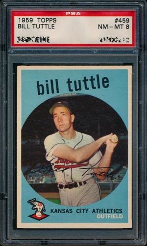 1959 Topps 459 Bill Tuttle