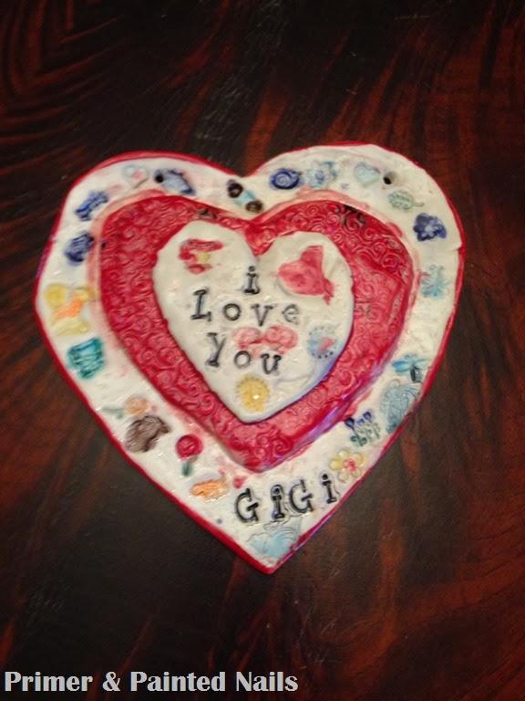 Ceramic Heart for Gigi