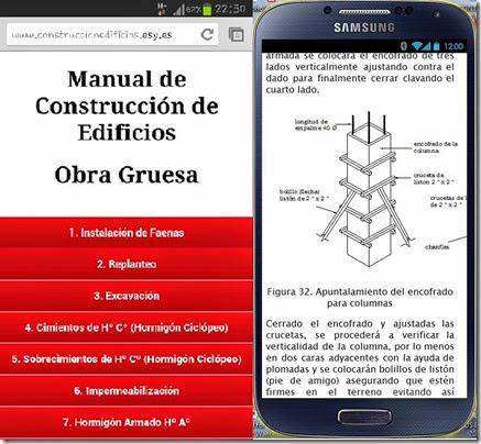 Obra Gruesa Construcción de Edificios Android App