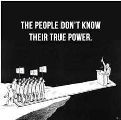 Народ не знает своей реальной силы