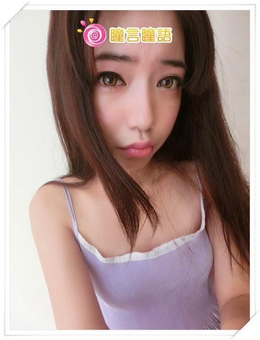 韓國GEO隱形眼鏡-Geo Holicat 荷麗貓仙女咖(Barbie Cat)11