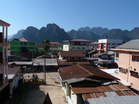 Imagini Laos: Vang Vieng din hotel
