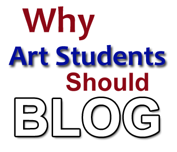 art students blogging