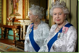  Official Diamond Jubilee portrait of British monarch HM Queen Elizabeth II