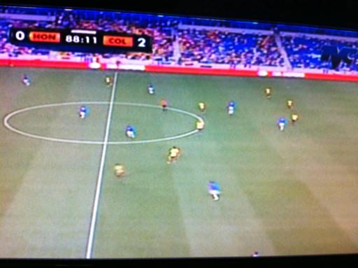 Honduras 0-2 Colombia Amistoso Internacional
