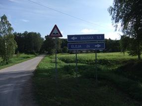 alrededores de Bauska