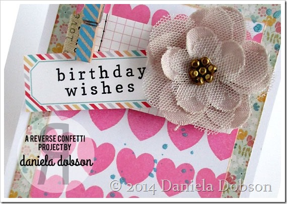 Birthday wishes close by Daniela Dobson