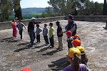 Fent els grups per la pista de rastreig