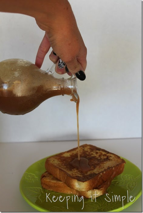 French toast with Cinnamon Syrup (3)