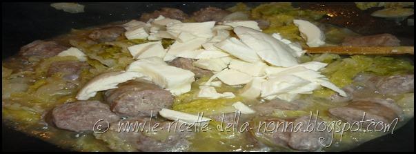 Padellata di verza e salsiccia (3)