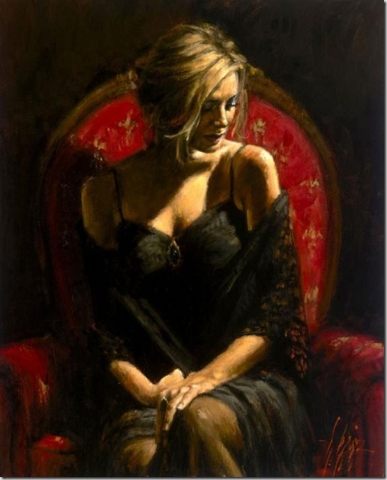Fabian Perez 1967 - Argentine Figurative painter - Reflections of a Dream - Tutt'Art@