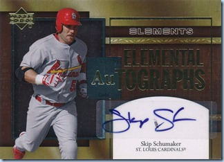2007 Elements Schumaker Auto