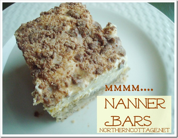 nanner bars @NorthernCottage.net