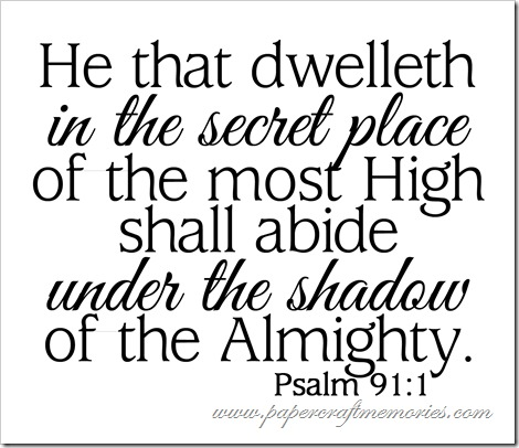 Psalm 91:1 WORDart by Karen for personal use