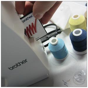 Programming the sewing machine