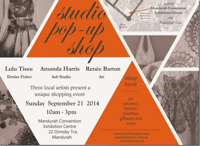 Studio pop up 2 ad