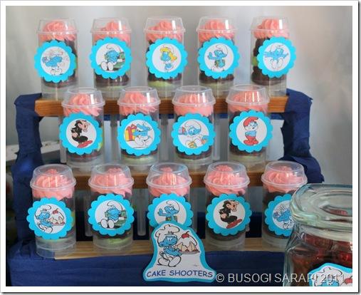 SMURF CAKE SHOOTERS© BUSOG! SARAP! 2011