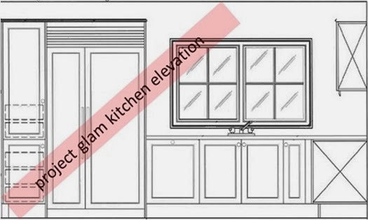 kitchen elevation 2- SAH
