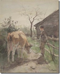 Mauve_Anton-Boy_Tending_Cow