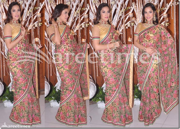 Tarun_Tahiliani_Flower_Design_Saree