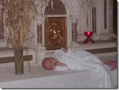 consécration baptème