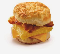 Biscuit-bacon