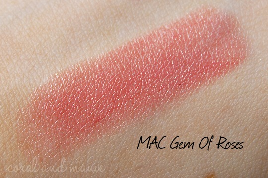MAC Gem Of Roses Swatch