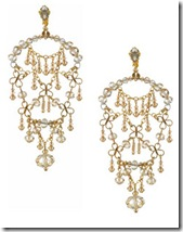 Erickson Beamon Chandelier Earrings