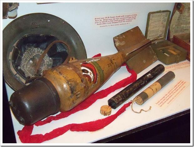 Bristish type cooper bomb