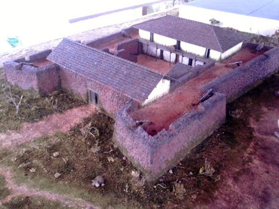Forte de Sao Joaquim, plastico