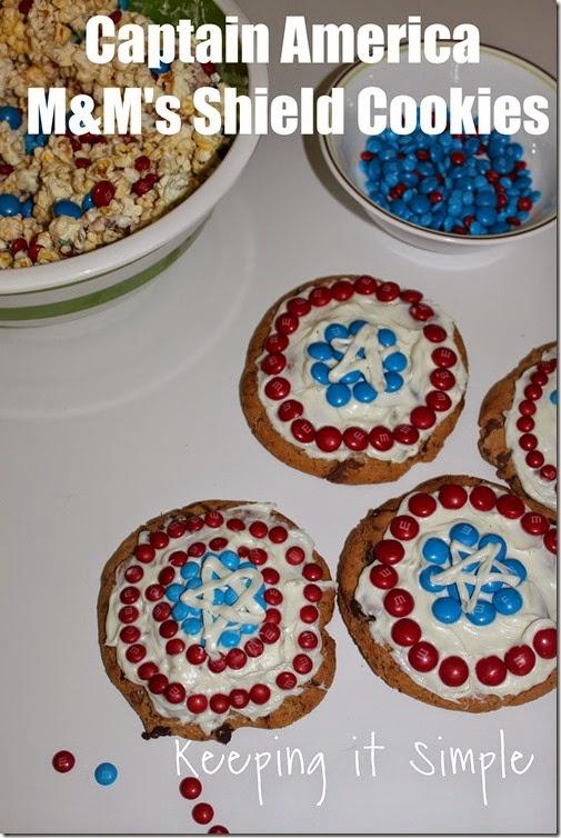 #shop Captain-America-M&M's-Shield-Cookies